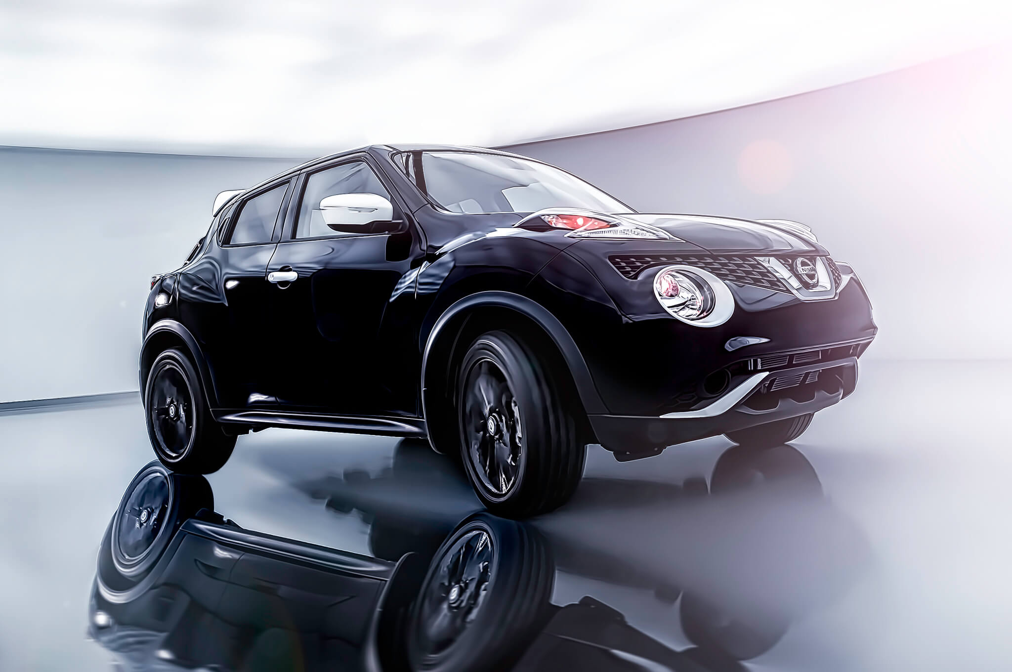 2017-Nissan-Juke-Black-Pearl-Edition-front-three-quarter